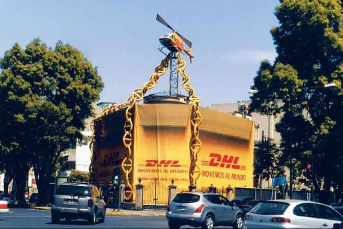 dhl guerrilla marketing